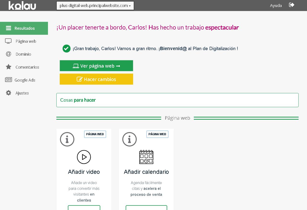 pagina web creada mintic