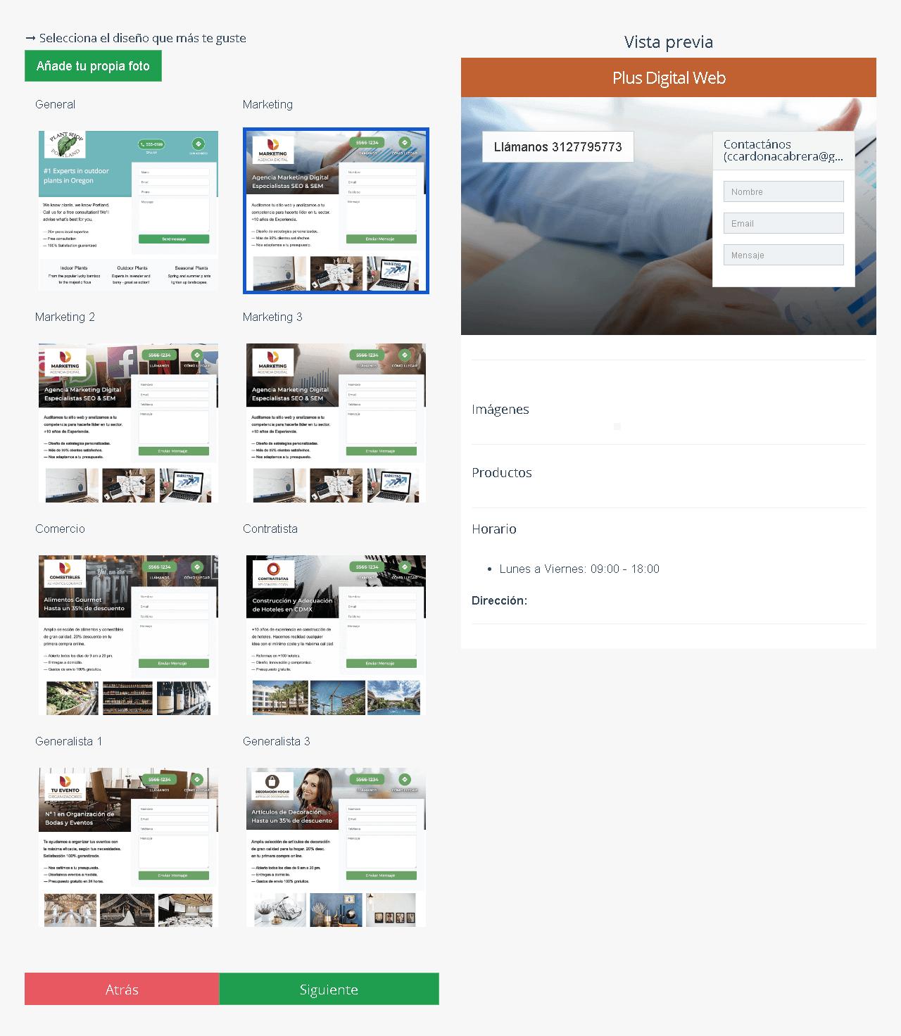 Landing page kolau